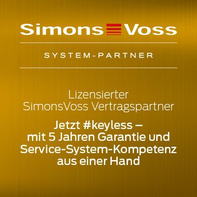 SimonsVoss 5 Jahre Garantie